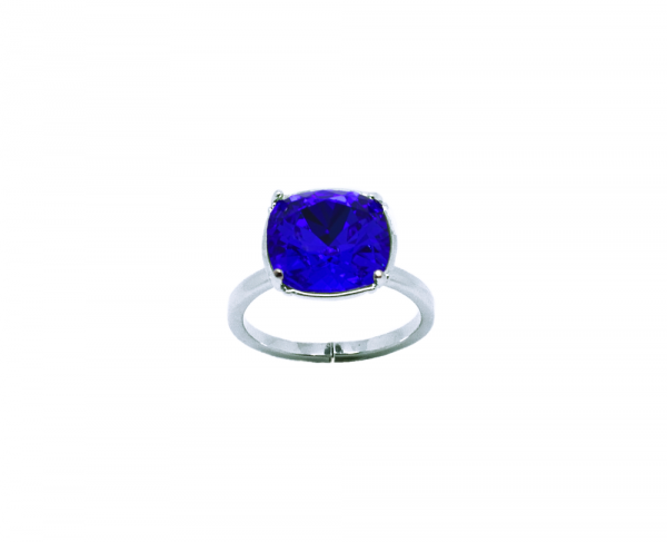 bague carrée cristal Swarovski