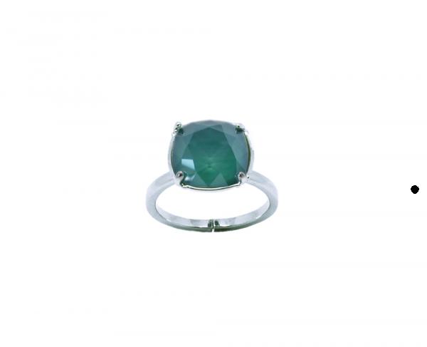 bague cristal royal green
