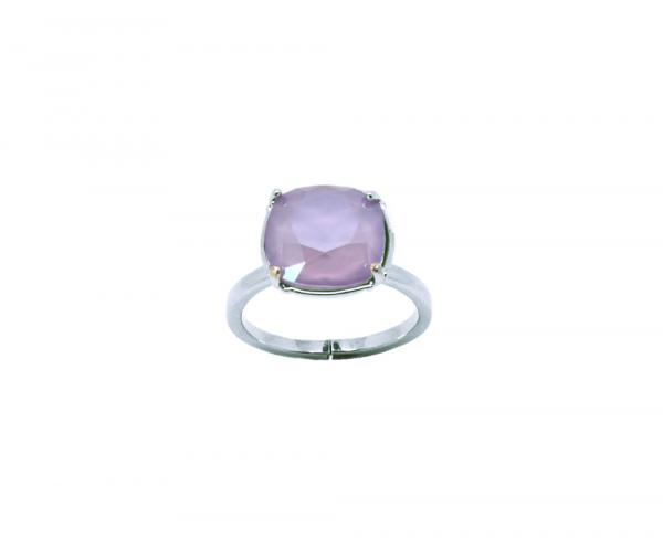 bague crystal lilac