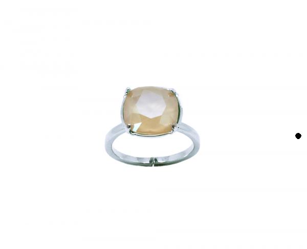 bague crystal ivory