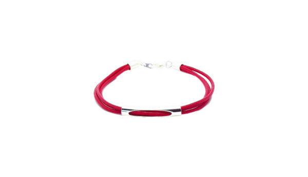 Bracelet cordon cuir femme