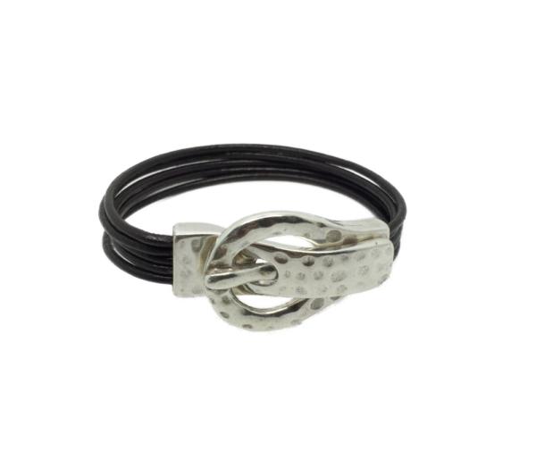 Bracelet cuir boucle ceinture