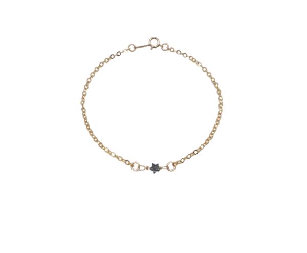 Bracelet chaine perle semi-précieuse